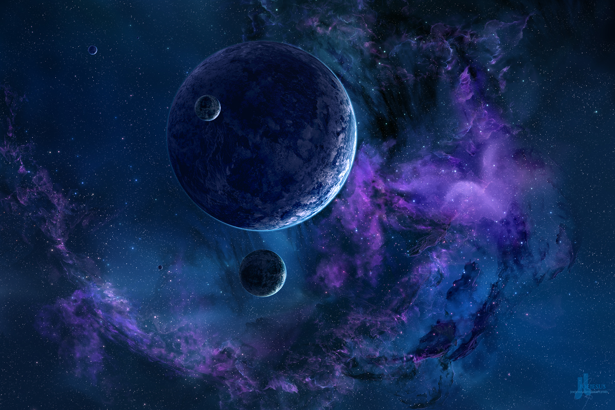 outer space planets - HD1920×1200