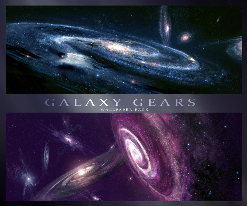 Galaxy Gears - HD Wallpaper Pack by JoeyJazz