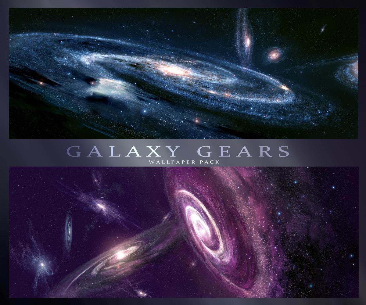 Galaxy Gears - HD Wallpaper Pack by JoeyJazz