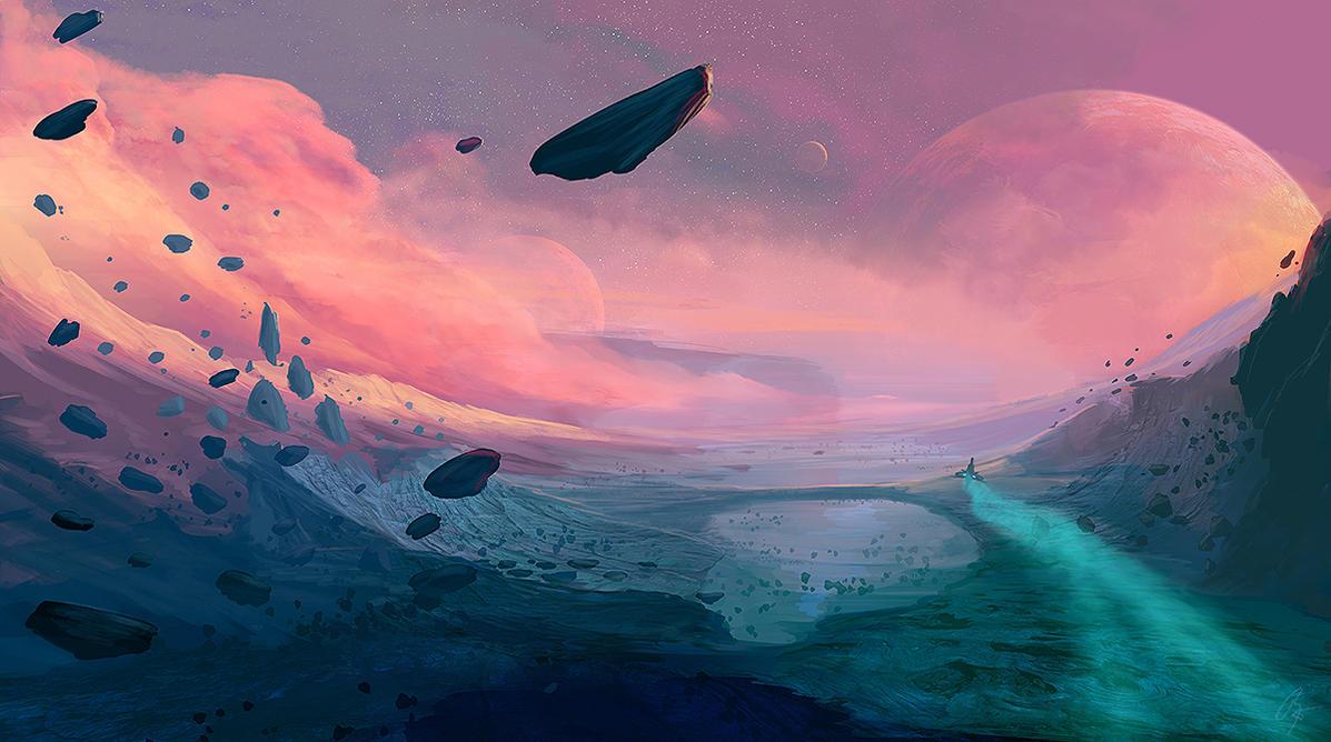 Frontier Skies by JoeyJazz