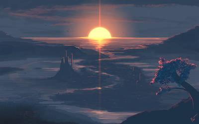Sunset v2.0 by JoeyJazz