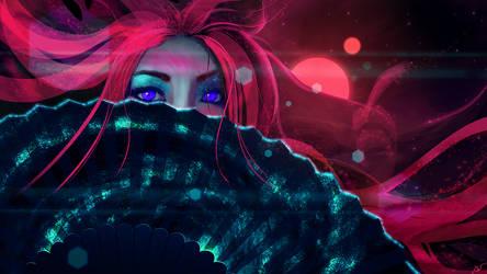 Lady Cosmos by JoeyJazz