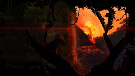 Shadow of the Jungle by JoeyJazz