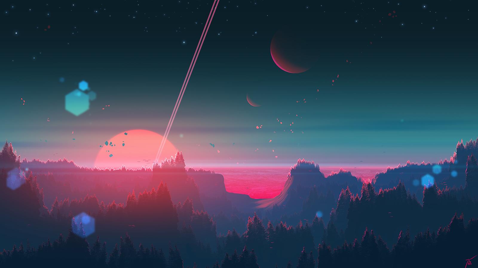 Under the strange horizon by JoeyJazz