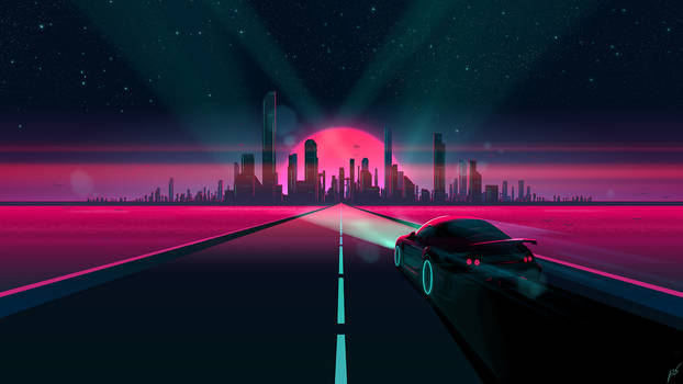 Sunset Drive by JoeyJazz