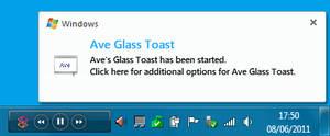 WLM 2011 skin for Glasstoast