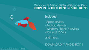 Windows 8 Modern Betta Wallpaper PACK