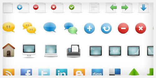 styleProne Web Icons