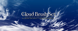 Cloud Brush Set by s3vendays