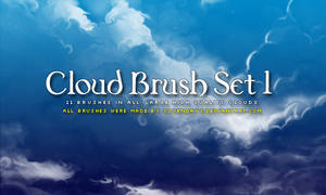 Clouds Brush Set 1 by s3vendays