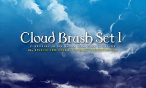 Clouds Brush Set 1