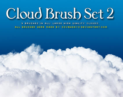 Clouds Brush Set 2 by s3vendays