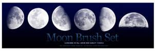 Moon Brush Set by s3vendays