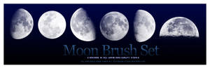 Moon Brush Set