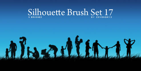 Silhouette Brush Set 17