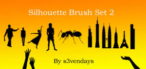 Silhouette Brush Set 2