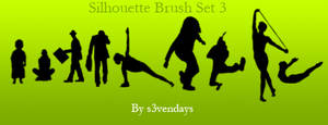 Silhouette Brush Set 3