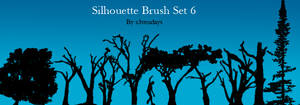 Silhouette Brush Set 6