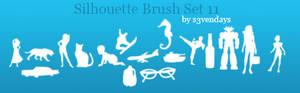 Silhouette Brush Set 11