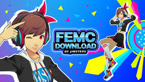 Female Protagonist - Persona 3 - Dance Outfit [DL]