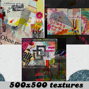 3 large textures by Lookbutdontouch