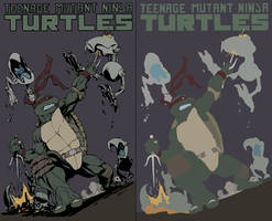 Raphael TMNT Con Commision FLATS - Robert Atkins by XganglyX