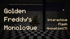 Golden Freddy's Monologue