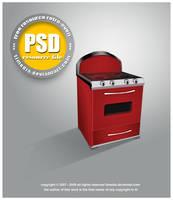 PSD oven by TLMedia