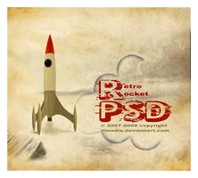retro rocket PSD by TLMedia