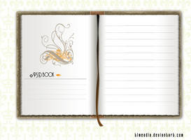 notebook psd by TLMedia