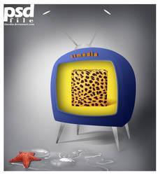 star fish watch tv PSD