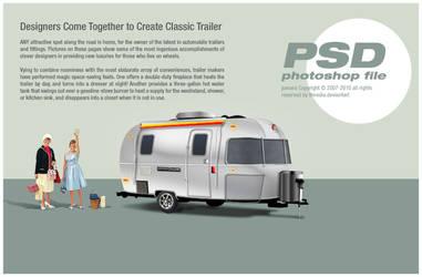 classic trailer PSD
