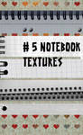 5 notebook Textures