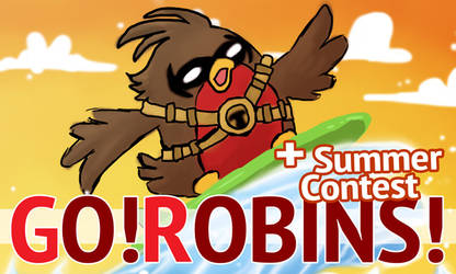 Go!Robins! - Hot Summer (+ Contest)