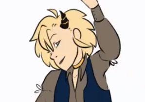 [Animated GIF] Az grows a horn
