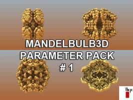 Mandelbulb3d Parameter Pack 1