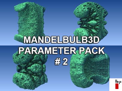 Mandelbulb3d Parameter Pack 2 by 16fingers on DeviantArt