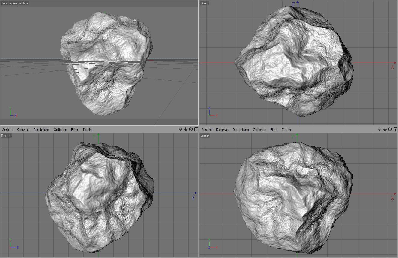 Procedural Rock Generator for C4D V 1.01b