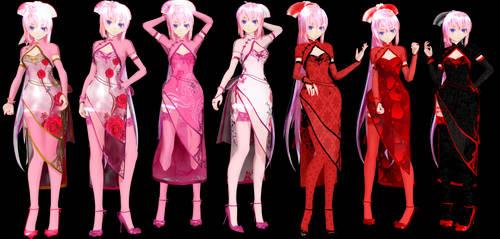 TDA Luka Canary China Dress Model DL by ConejoBlanca