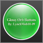 Glossy Orb Buttons
