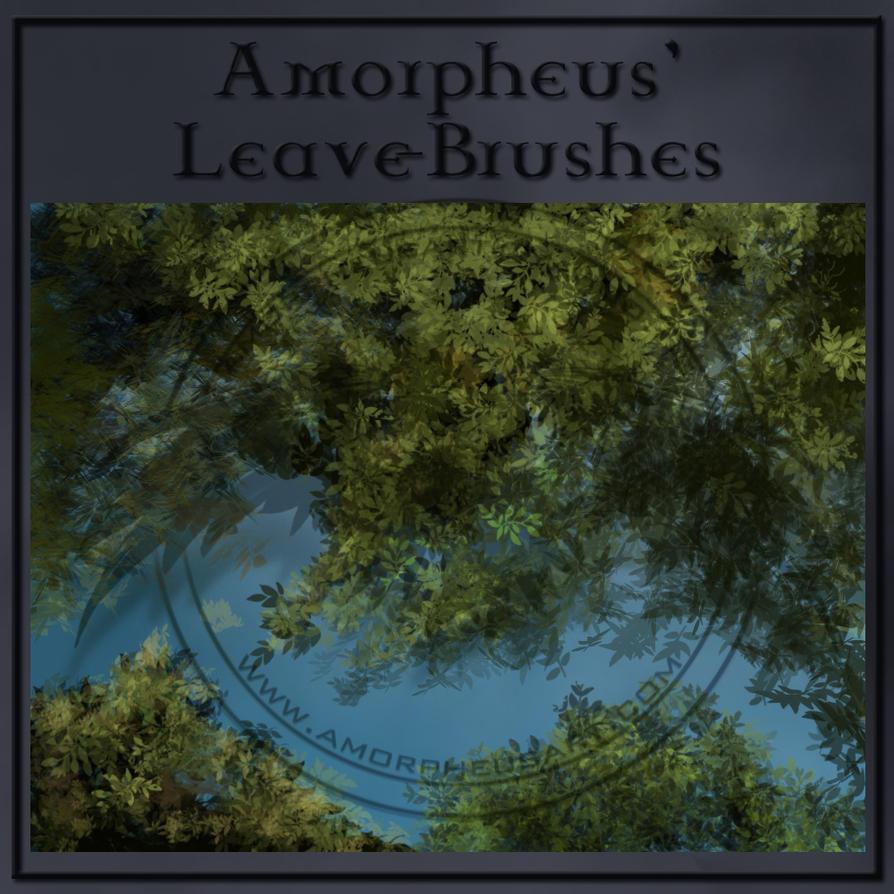 Amorpheus-Leaves-Brushes by AmorpheusArt