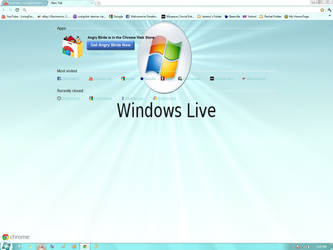 Windows live theme WIN 7 by LivingForTheFuture