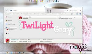 TwiLight Gray For windows 7 by MagiiiAsdfghjkl
