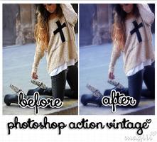 Vintage photoshop action by MagiiiAsdfghjkl