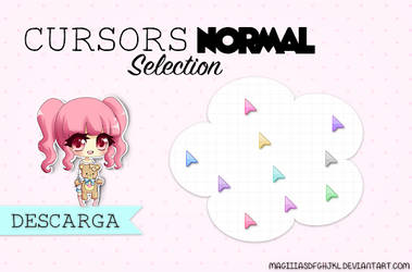 Cursors normal selection by MagiiiAsdfghjkl