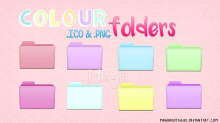 Colour folders by MagiiiAsdfghjkl
