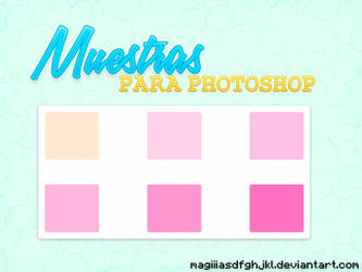 Muestras para photoshop by MagiiiAsdfghjkl