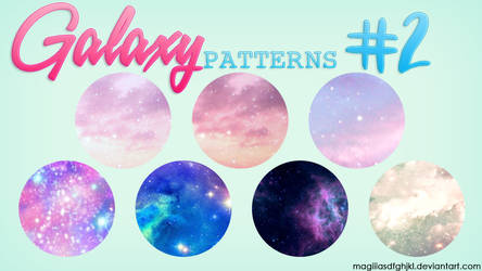 Galaxy Patterns #2 by MagiiiAsdfghjkl