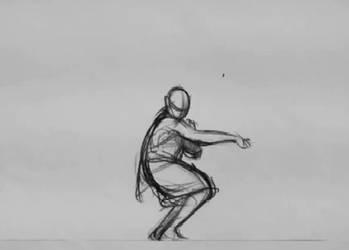 Animation Shaolin Monk by nicolasammarco