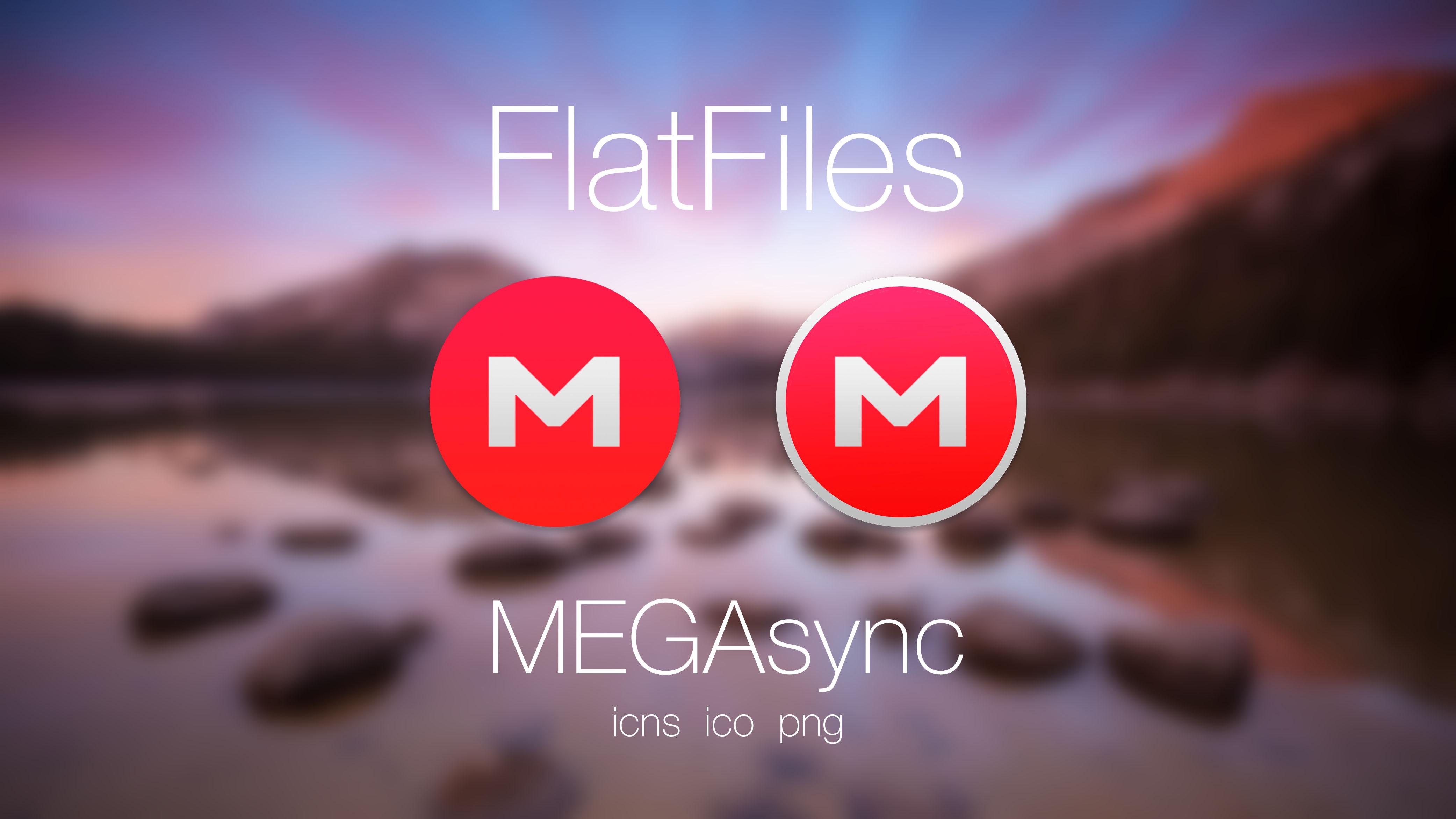 FlatFiles - MEGAsync by javijavo93